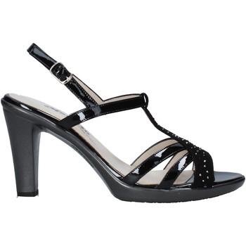 Schuhe Damen Sandalen / Sandaletten Melluso HR50134 Schwarz