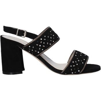 Schuhe Damen Sandalen / Sandaletten Melluso HS533 Schwarz