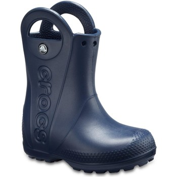 Schuhe Kinder Stiefel Crocs  Marineblau