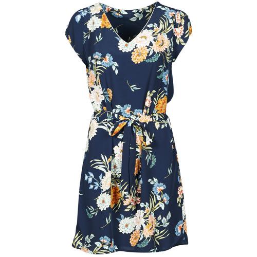 Kleidung Damen Kurze Kleider Betty London OWAKA Marine / Multicolor