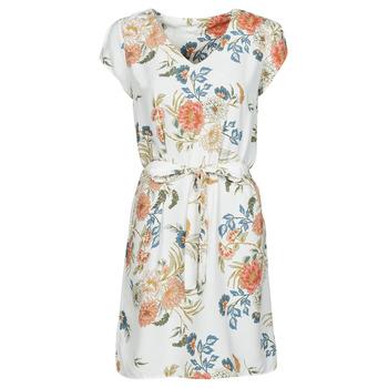 Kleidung Damen Kurze Kleider Betty London OWAKA Weiss / Multicolor