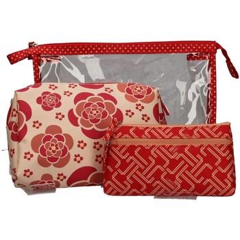 Taschen Damen Geldtasche / Handtasche Lancetti LTMD0001S03 ROT