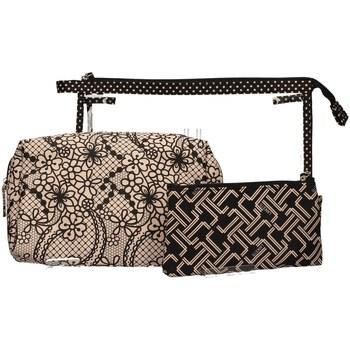 Taschen Damen Geldtasche / Handtasche Lancetti LTMD0001S03 SCHWARZ