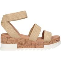 Schuhe Damen Sandalen / Sandaletten Steve Madden BANDI Beige