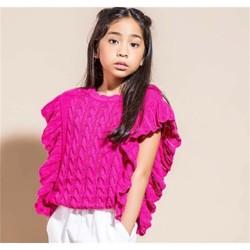 Kleidung Mädchen Pullover Vicolo 3146W0283 Pullover Kind Erdbeere Erdbeere