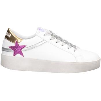 Schuhe Damen Sneaker Low Shop Art SA050129 Sneaker Frau WEISSES GOLD WEISSES GOLD