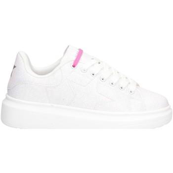 Schuhe Damen Sneaker Low Shop Art SA050112 Sneaker Frau WEISS WEISS