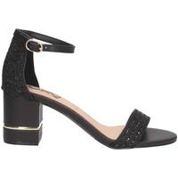 Schuhe Damen Sandalen / Sandaletten Exé Shoes Exe' PENNY-361 Sandalen Frau SCHWARZ SCHWARZ