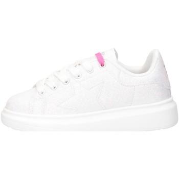 Schuhe Mädchen Sneaker Low Shop Art SA050309 WEISSSILBER