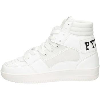 Schuhe Jungen Sneaker High Pyrex PY050301 Sneaker Kind WEISS SCHWARZ WEISS SCHWARZ