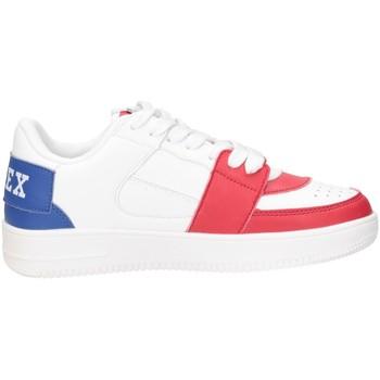 Schuhe Jungen Sneaker Low Pyrex PY050308 Sneaker Kind WEISS / ROT / BLAU WEISS / ROT / BLAU