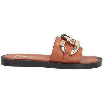 Schuhe Damen Pantoffel Exé Shoes Exe' SAMANTHA-273 Pantoffeln Frau LEDER LEDER