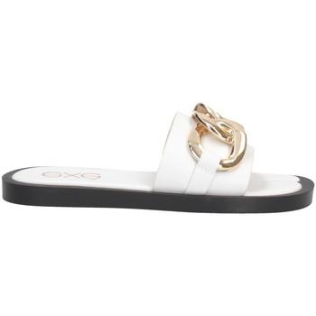 Schuhe Damen Pantoffel Exé Shoes Exe' SAMANTHA-273 Pantoffeln Frau WEISS WEISS