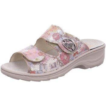 Schuhe Damen Pantoffel Fidelio Pantoletten SOFT-LINE D PANTOFFEL 23411-97 bunt