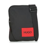 Taschen Herren Geldtasche / Handtasche HUGO Ethon_NS zip Schwarz