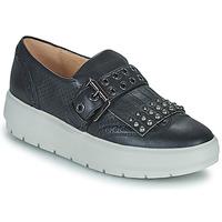 Schuhe Damen Sneaker Low Geox KAULA Schwarz