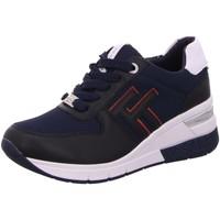 Schuhe Damen Sneaker Low Tom Tailor 1193806 navy blau