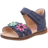 Schuhe Mädchen Sandalen / Sandaletten Däumling Maedchen jeans chalk 020321s-42 blau