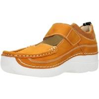 Schuhe Damen Slipper Wolky Slipper Roll Combi 06214-11-920 gelb