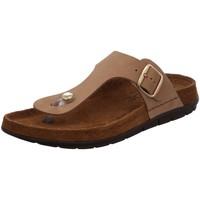 Schuhe Damen Zehensandalen Rohde Pantoletten 5860-14 braun