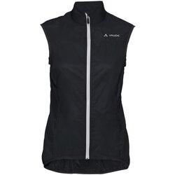 Kleidung Damen Strickjacken Vaude Sport Wo Air Vest III 40807 051 schwarz