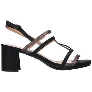 Schuhe Damen Sandalen / Sandaletten Balleri 2045-1 Mujer Negro noir