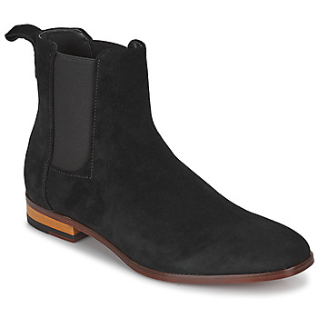 Schuhe Herren Boots HUGO CULT CHEB Schwarz