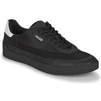 Schuhe Herren Sneaker Low HUGO ZERO TENN Schwarz