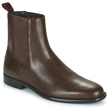 Schuhe Herren Boots HUGO KYRON CHEB Braun