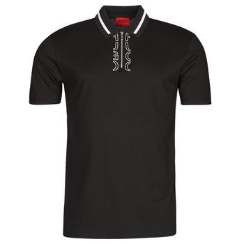 Kleidung Herren Polohemden HUGO DOLMAR Schwarz / Weiss