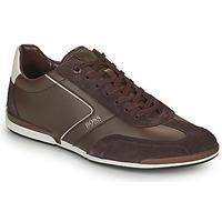 Schuhe Herren Sneaker Low BOSS SATURN LOWP ITAL Braun