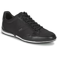 Schuhe Herren Sneaker Low BOSS SATURN LOWP NYS Schwarz