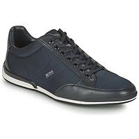 Schuhe Herren Sneaker Low BOSS SATURN LOWP NYST Marine