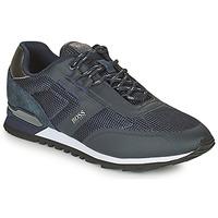 Schuhe Herren Sneaker Low BOSS PARKOUR RUNN ME Marine