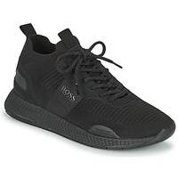 Schuhe Herren Sneaker Low BOSS TITANIUM RUNN KNST1 Schwarz