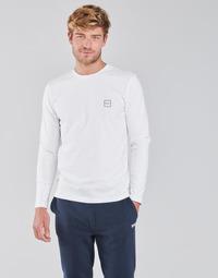 Kleidung Herren Langarmshirts BOSS TACKS Weiss