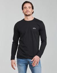 Kleidung Herren Langarmshirts BOSS TOGN CURVED Schwarz