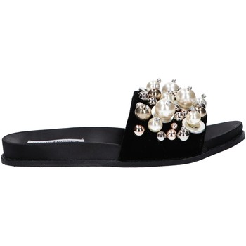 Schuhe Damen Slip on Steve Madden DELICATE Negro