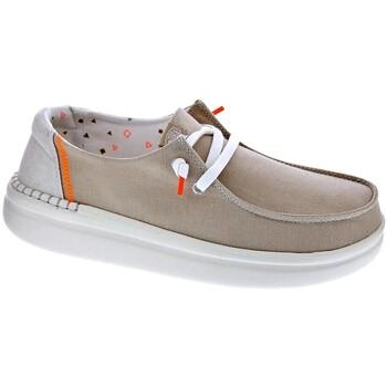 Schuhe Damen Slipper Dude Wendy Rise Beige