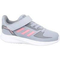 Schuhe Kinder Laufschuhe adidas Originals Runfalcon 20 Grau