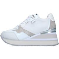 Schuhe Damen Sneaker High Apepazza S1HIGHNEW07/NYL WEISS
