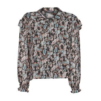 Kleidung Damen Tops / Blusen Betty London OCARA Schwarz / Multicolor