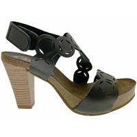 Schuhe Damen Sandalen / Sandaletten Calzaturificio Loren LOJ0846ne nero