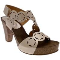 Schuhe Damen Sandalen / Sandaletten Calzaturificio Loren LOJ0846dune nero