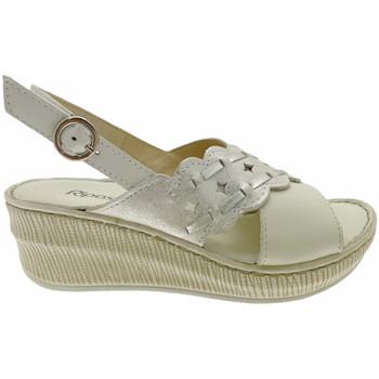 Schuhe Damen Sandalen / Sandaletten Riposella RIP16303bia bianco