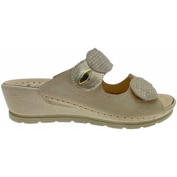 Schuhe Damen Pantoffel Riposella RIP40925bei bianco