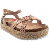 Schuhe Mädchen Sandalen / Sandaletten MTNG Mädchensandale MUSTANG KIDS 48269 beige Weiss