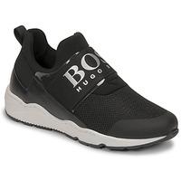 Schuhe Jungen Sneaker Low BOSS FETINA Schwarz