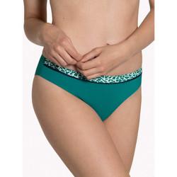 Kleidung Damen Bikini Ober- und Unterteile Lisca Badeanzugunterteil Utila Dunkelgrün