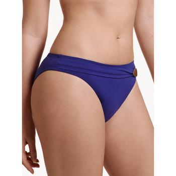 Kleidung Damen Bikini Ober- und Unterteile Lisca Okinawa  Badeanzug Slip Blau